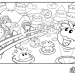 Club Penguin Coloring Pages Club Penguin Island Cheats