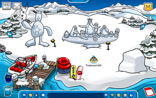 Club Penguin Snow Sculpture Showcase 209