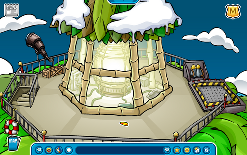 Club Penguin Summer Party 2007 Lighthouse Beacon Surfboard Pin