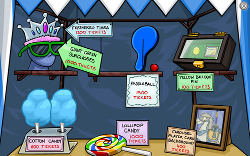 Club Penguin Fall Fair 2008 Prize Booth Update