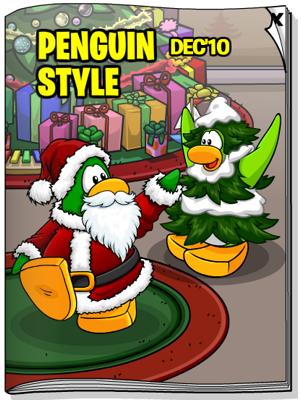 Club Penguin December 2010 Penguin Style