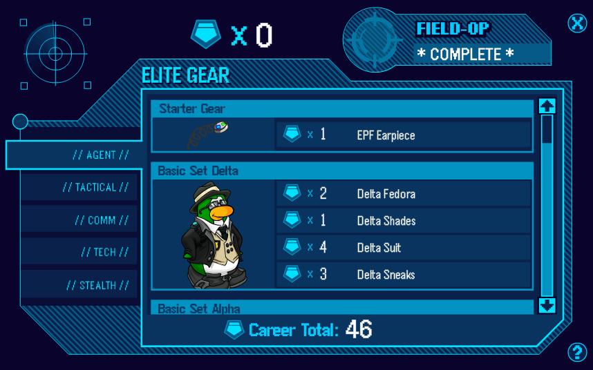 Club Penguin Elite Penguin Gear