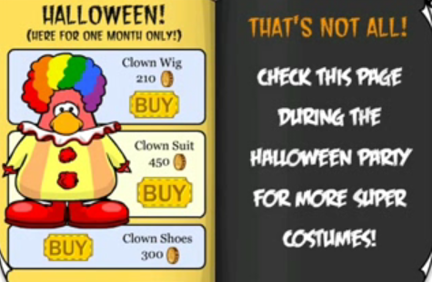 Club Penguin October 2006 Penguin Style