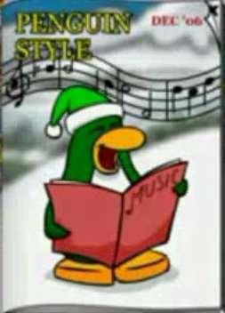 Club Penguin December 2006 Catalog