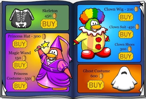 Club Penguin October 2007 Penguin Style