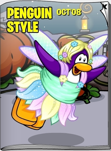 Club Penguin October 2008 Penguin Style