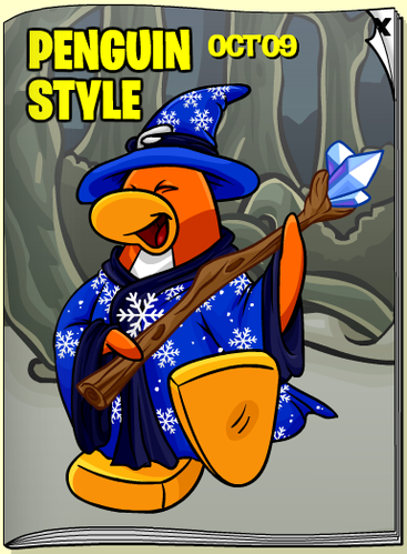 Club Penguin October 2009 Penguin Style
