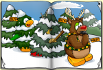 Club Penguin December 2009 Penguin Style