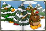 Club Penguin December 2009 Penguin Style