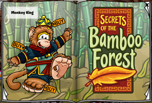 Club Penguin Secrets of the Bamboo Forest Stage Play Catalogue
