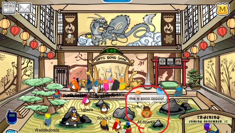 Undercover Moderators All Over Old Club Penguin Blog