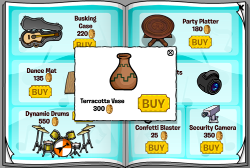 Club Penguin June 2011 Furniture Catalogue