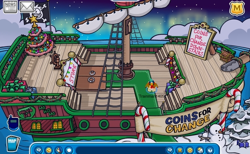 Club Penguin Holiday Party 2011 [Theory