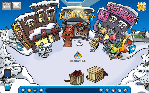 Club Penguin Card-Jitsu Party 2011 Construction