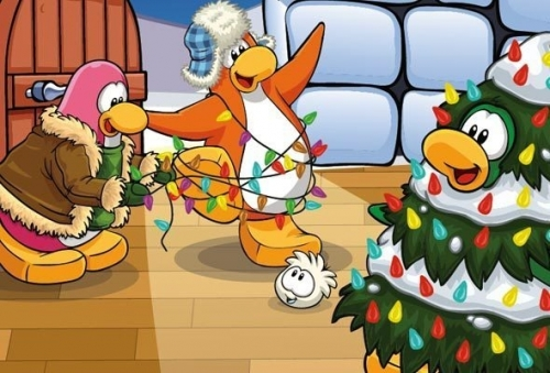 Club Penguin Holiday Party 2011