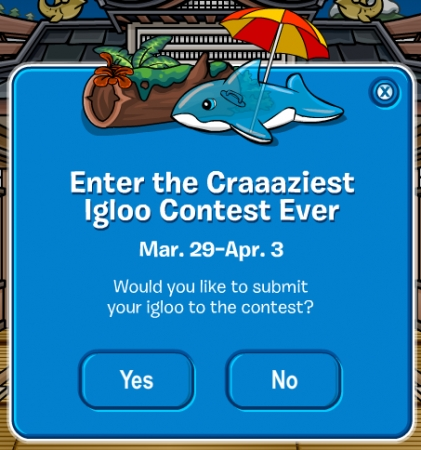 Club Penguin Craaaziest Igloo Contest Ever 2012