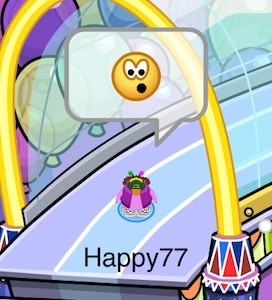 Club Penguin April Fool's Day Party 2012