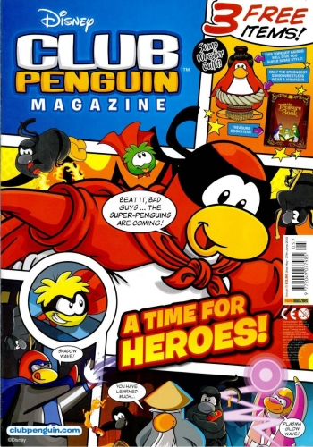 Club Penguin's June 2012 Magazine Issue Is Now In Stores (Super Hero Party Details Inside!)