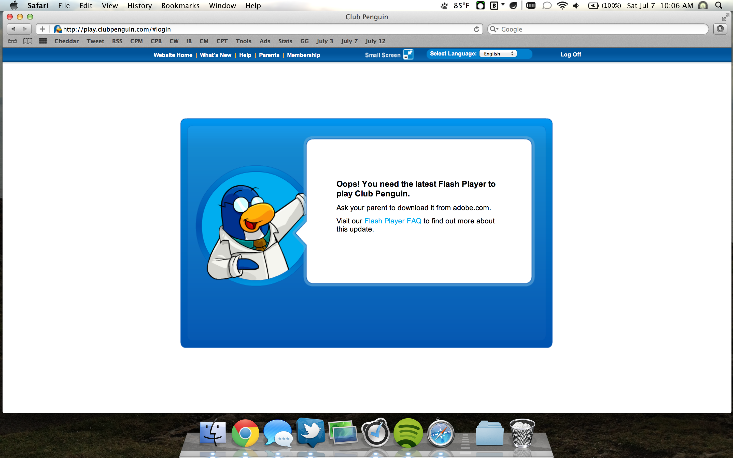 Club Penguin On The Retina Macbook Pro [review] [updated With Reply From  Club