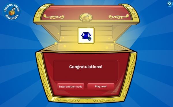 Club Penguin Blue Tracksuit Code