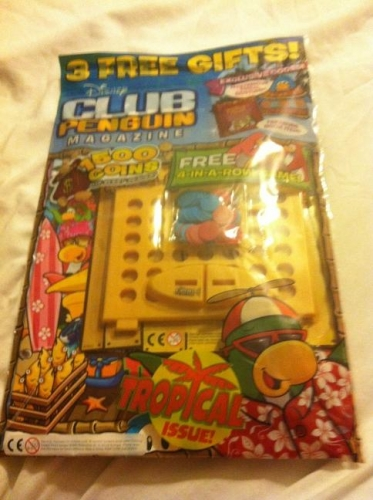 Club Penguin Magazine Issue 8 August 2012