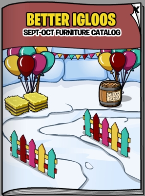 Club Penguin September 2011 Furniture Catalog