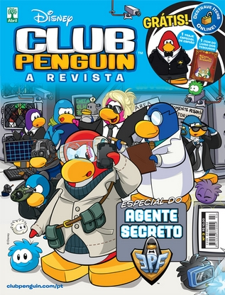 Club Penguin Magazine Issue 3 In Brazil