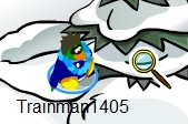 Club Penguin Magnifying Glass Pin