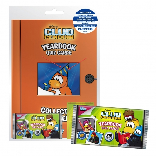 Club Penguin Yearbook Quiz Cards