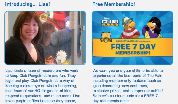Free Club Penguin Membership