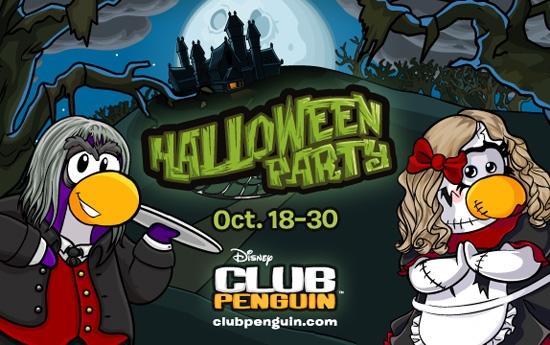 Club Penguin Halloween 2012
