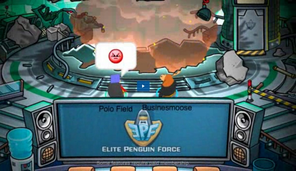 Club Penguin Xat Chat Room