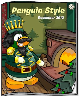 Club Penguin December 2012 Penguin Style