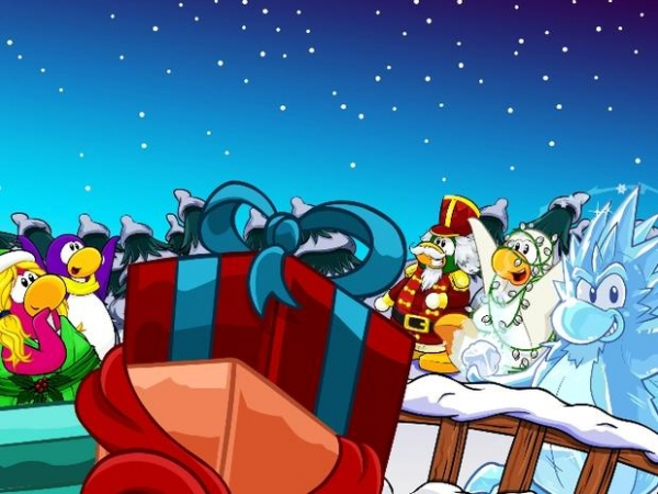 Club Penguin Holiday Party 2012