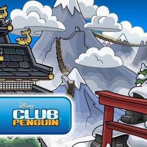 Club Penguin Snow Dojo Path Sneak Peek
