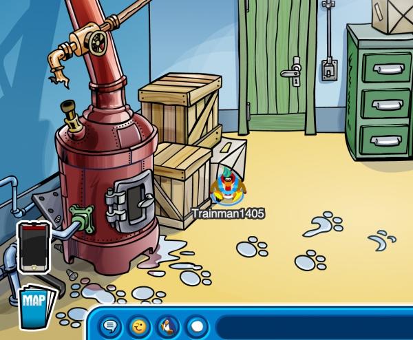 Club Penguin Boiler Room