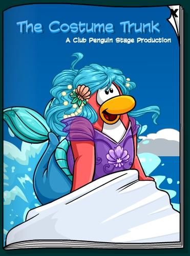 Club Penguin Underwater Adventure Stage Play Costume Trunk Catalog