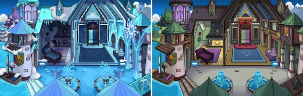 Frozen Rooms For Free