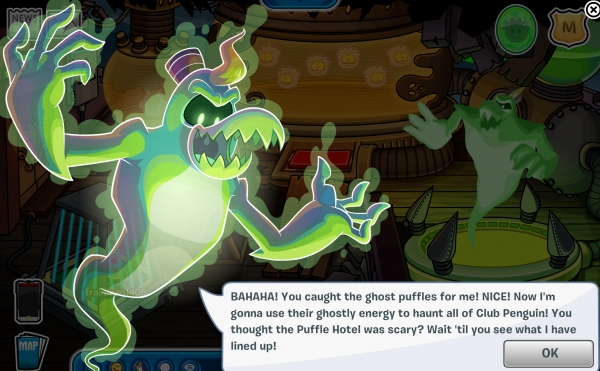 How To Adopt A Ghost Puffle On Club Penguin Floors 11