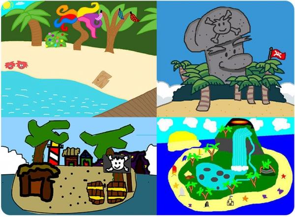 Club Penguin Rockhopper Island Fan Art