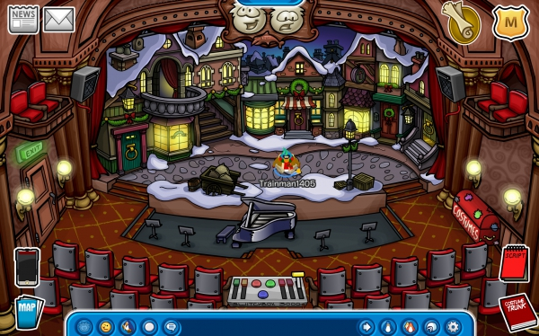 Club Penguin Humbug Holiday Stage Play