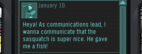 Random EPF Message From Rookie Dated January 10th