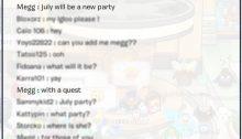 Club Penguin July 2016 Party Announcement