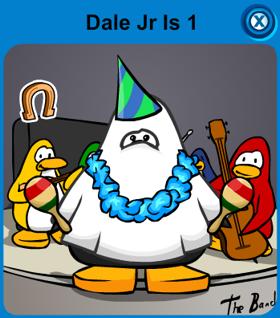 Dale Jr Is 1